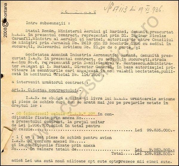 [8] IAR-37 | Contract 1936