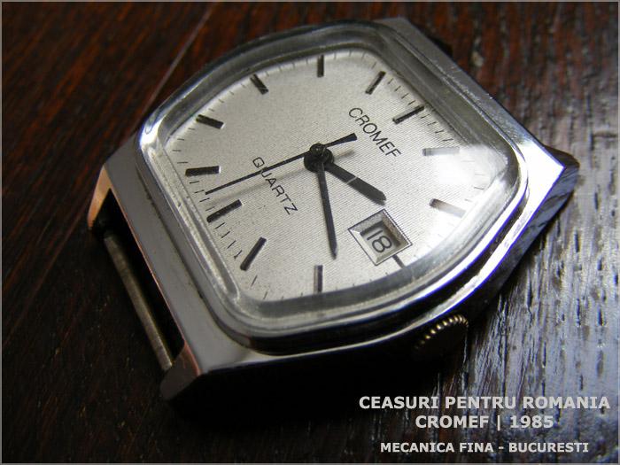 Cromef | 1985 | Quartz