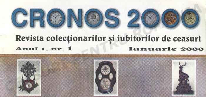 Revista Cronos | nr. 1 | 2000