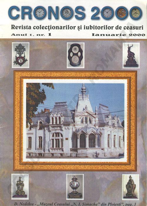 Cronos 2000 | an 1 | nr. 1 - ianuarie.2000