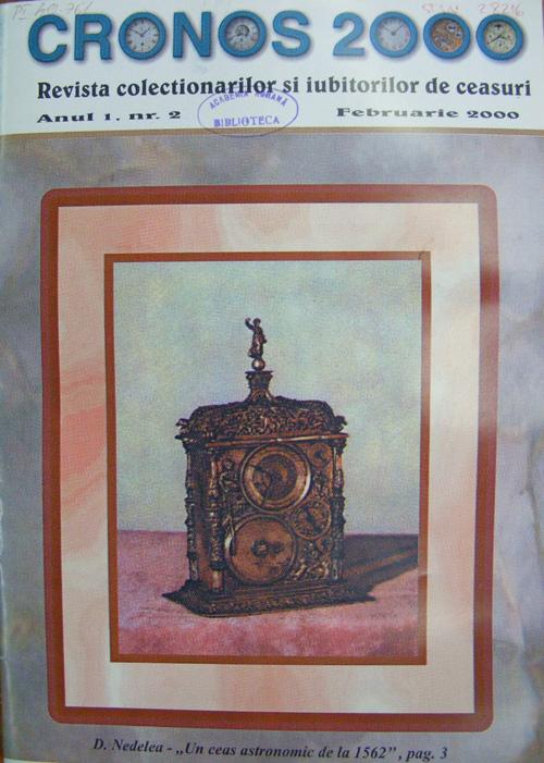 Cronos 2000 | an 1 | nr. 2 - februarie.2000