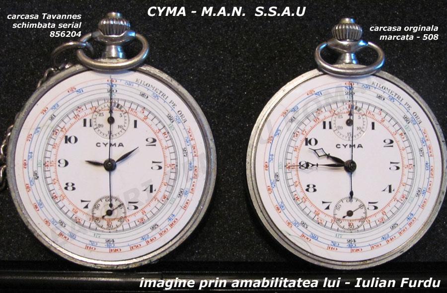CYMA - MAN SSAU | cadran
