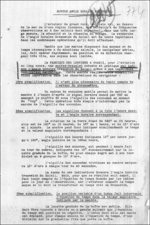 descriere Longines Lindbergh (1)