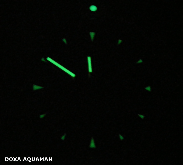 Doxa Aquaman | nightshot