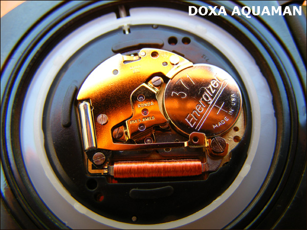 Doxa Aquaman | movement