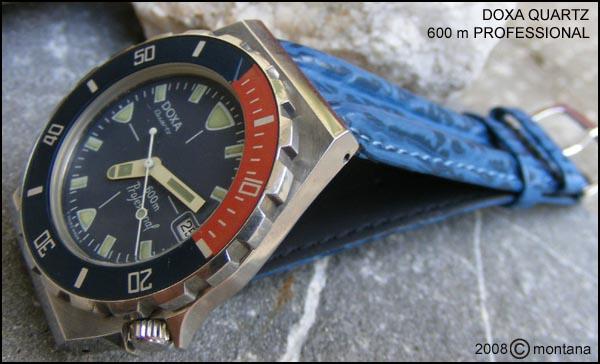Doxa quartz|600m Professional