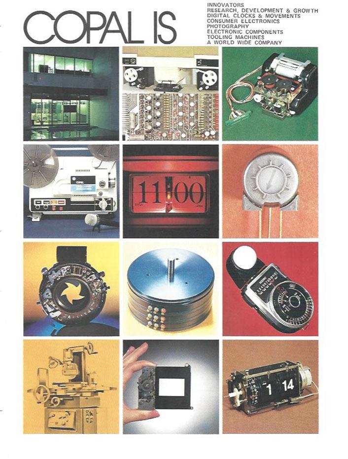 pliant prezentare produse Copal (anii 1970-1980) | pag.3