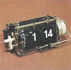 pliant prezentare produse Copal (anii 1970-1980) | extras motor radioceas cu afisaj digital