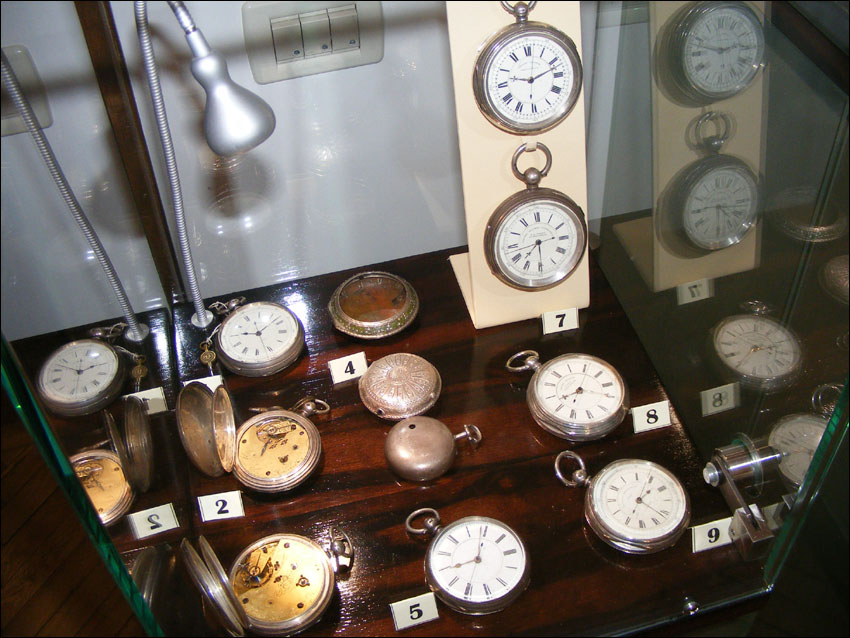 Horologivm | expozitie fusee
