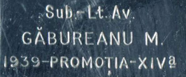 Longines promotia 1939 cal. 25.17 | M. Gabureanu
