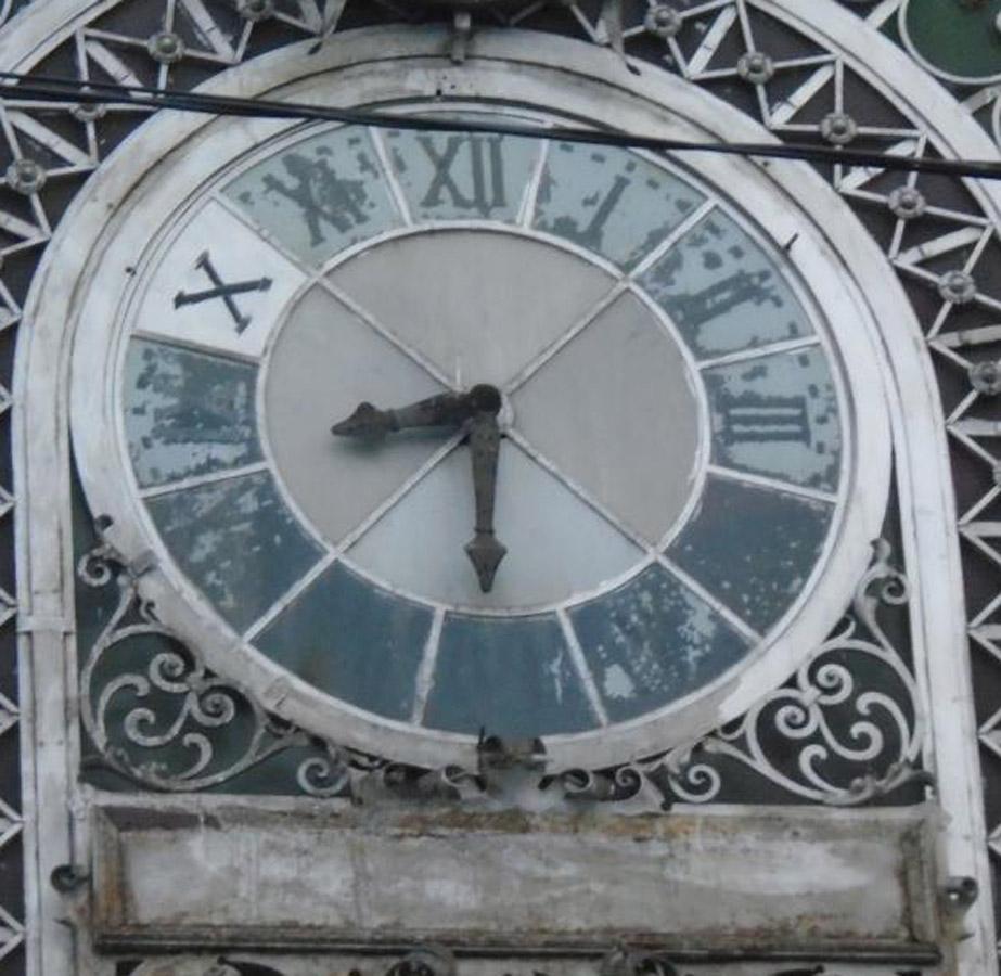 ceas fatada | gara Ramnicu Sarat | 2016