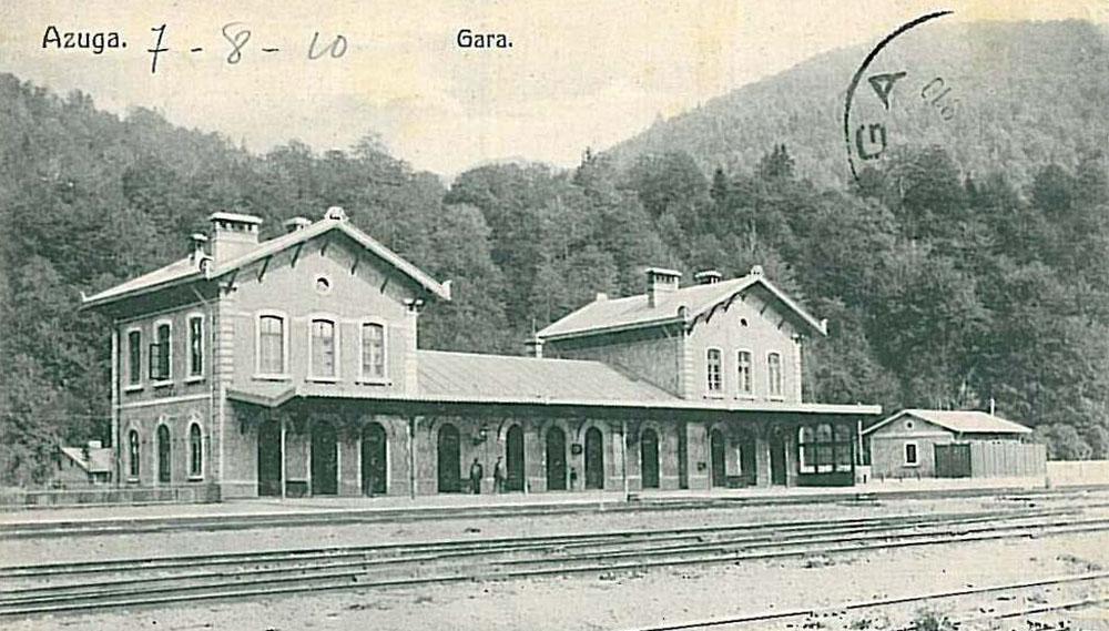 gara Azuga | 1910