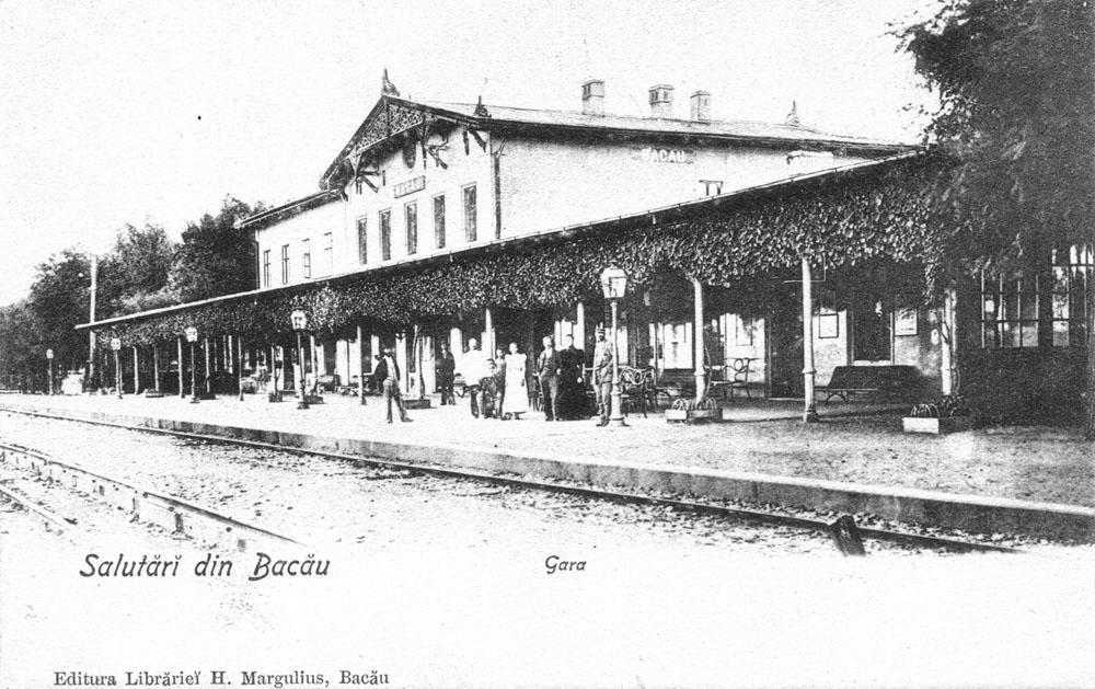 gara Bacau | perioada interbelica