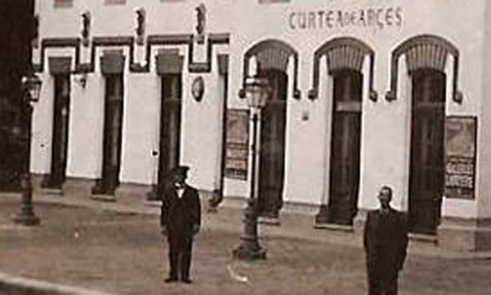 Curtea de Arges | gara in interbelic