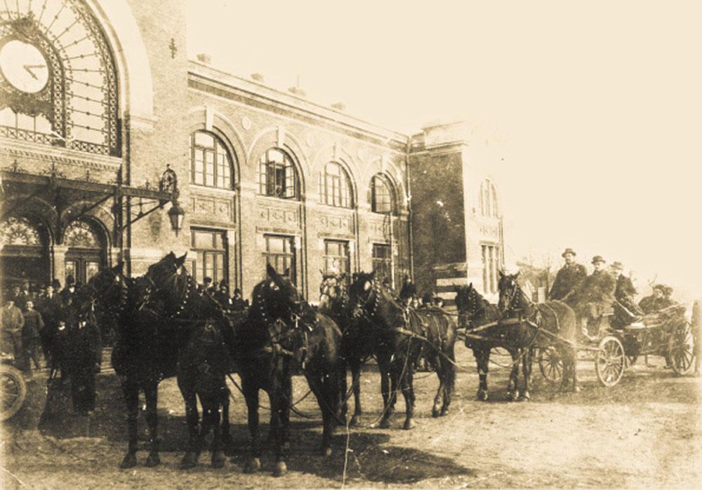 ceas gara Ramnicu Sarat | 1900