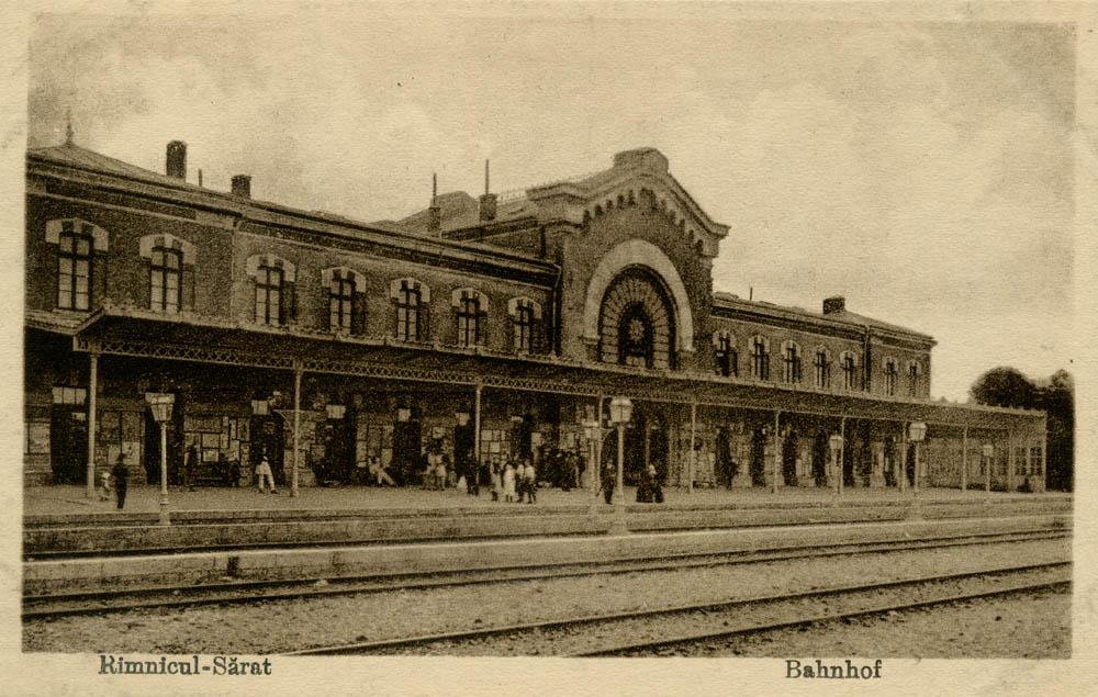 gara Ramnicu Sarat | perioada interbelica
