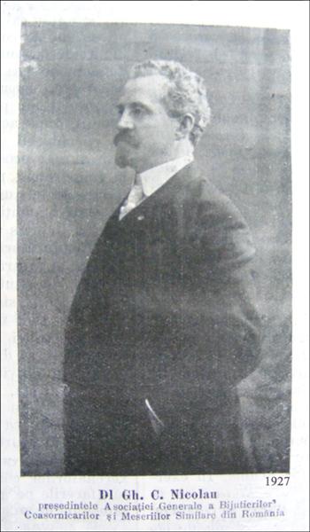 Gh. C. Nicolau (G.C.N.)| 1927
