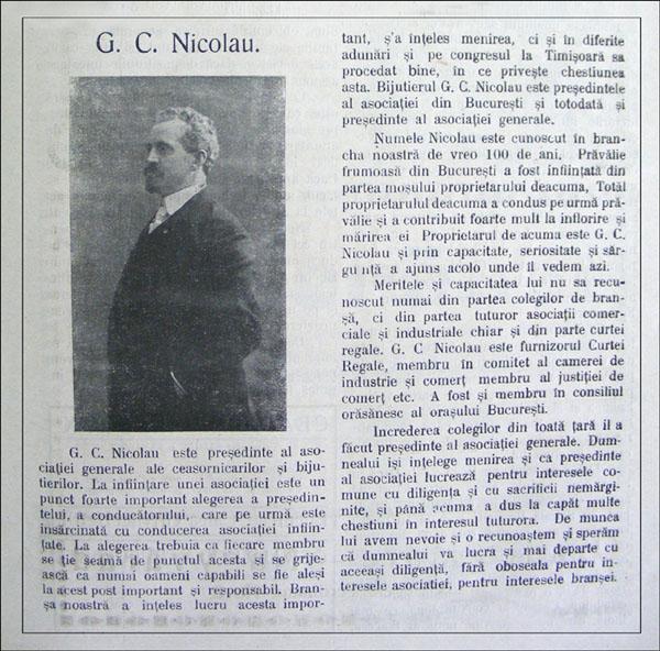 Gazeta Ceasornicarilor | an III nr.9 | mai.1924