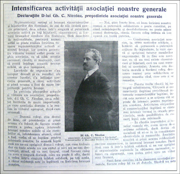 Orologiul | an I nr. 1 | august.1927