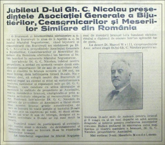 Orologiul | an IV nr. 7 | aprilie.1930
