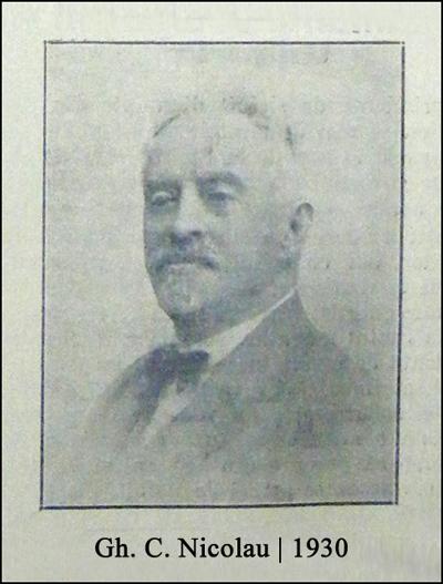 Gh. C. Nicolau (G.C.N.) | 1930