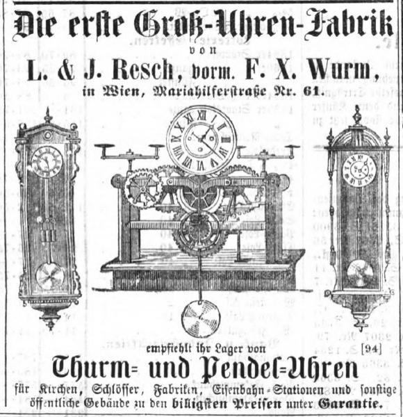 anunt achizitie | Gebruder Resch - F.X. Wurm