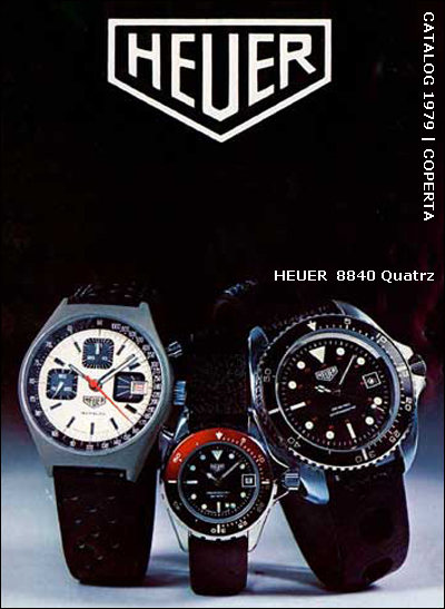 Heuer | 1979 catalogue