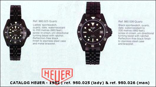 modele Heuer 980.02x