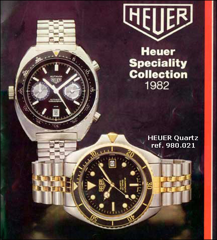 Heuer | 1982 catalogue