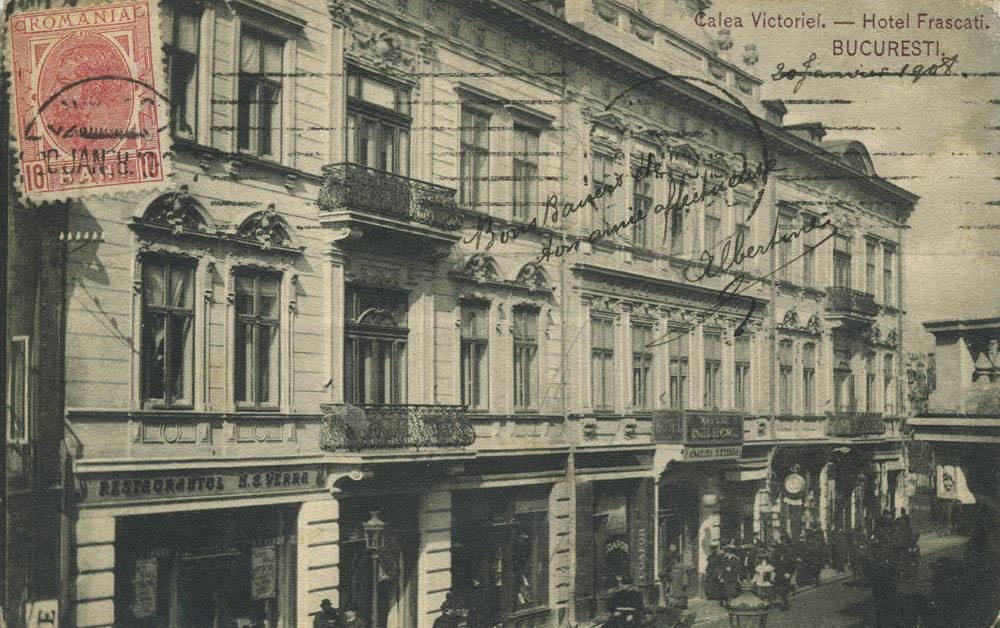 hotel Frascati | Calea Victoriei (1908)