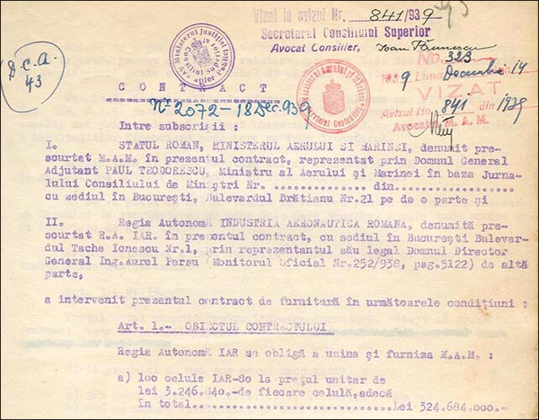 [25] IAR-80 | Contract 1939