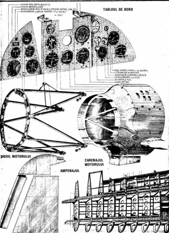 [24] IAR-80 | Tablou de bord