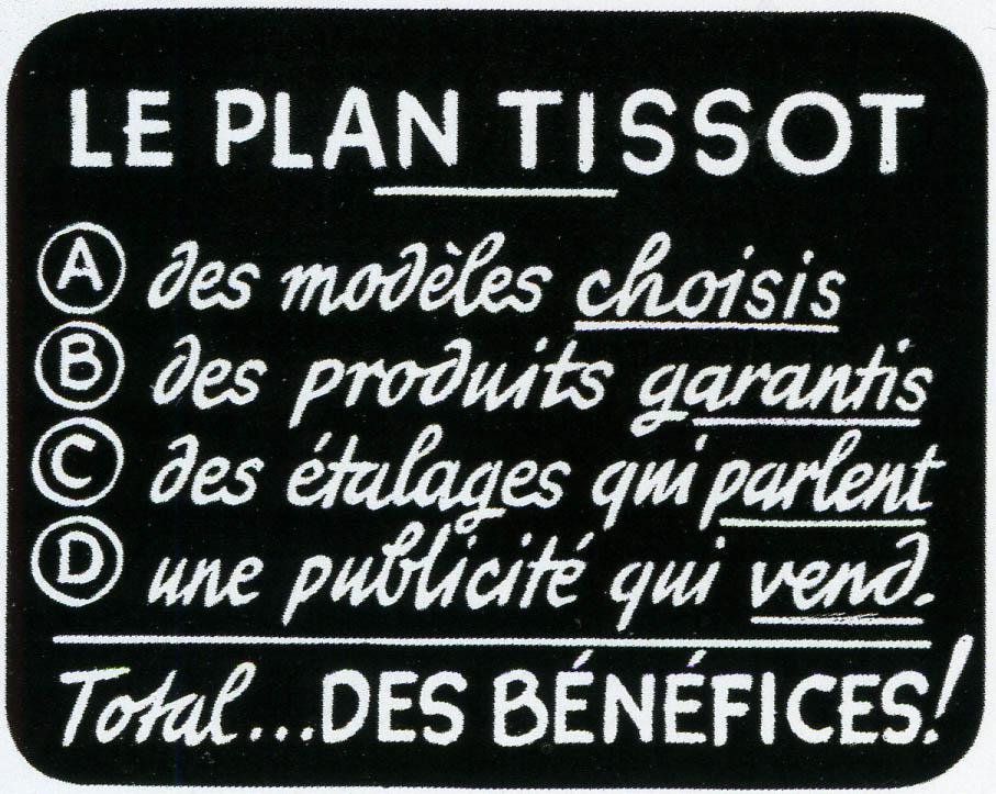 """""""Le Plan Tissot - 1933"""""""