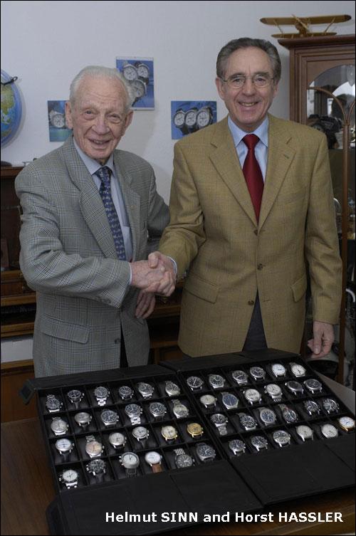 Helmut Sinn si Horst Hassler