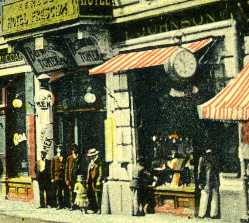Lazar Johnson | hotel Frascati | calea Victoriei (1910)