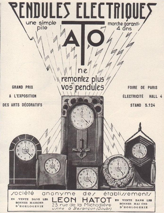reclama Leon Hatot (ATO) | 1920