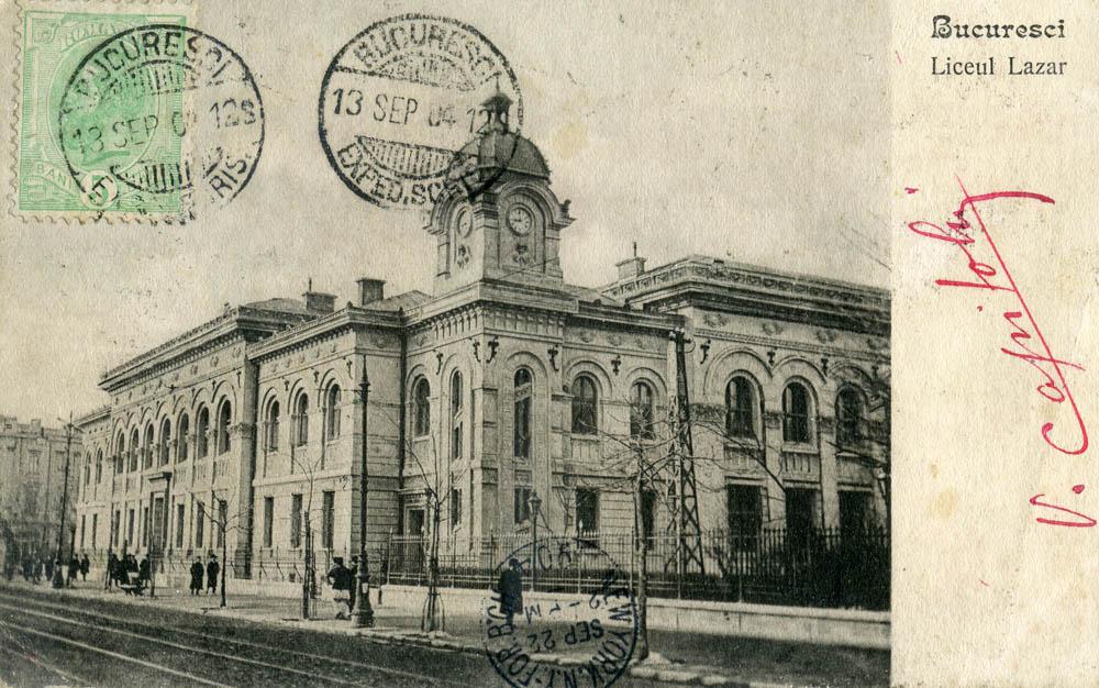 Liceul Lazar | 1904