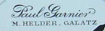 Paul Garnier | M. Helder (Galati)