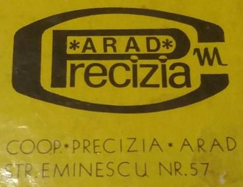 logo Precizia Arad | anii '950-'970
