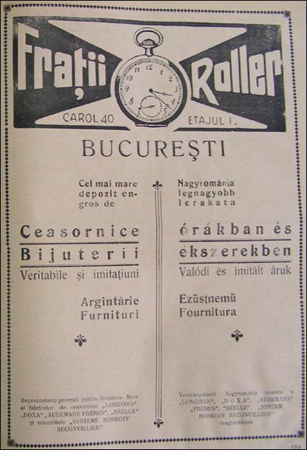 reclama Longines | 1928