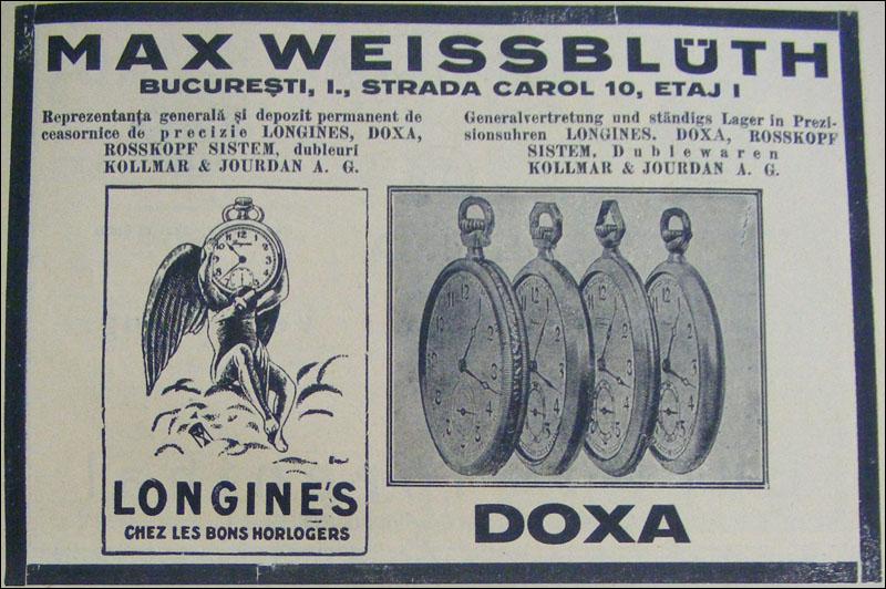 reclama Longines | 1929