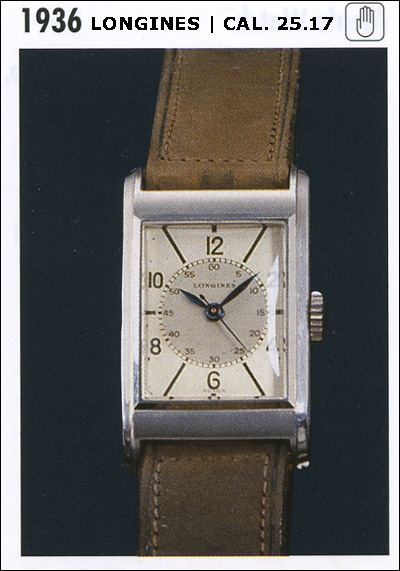 Longines cal. 25.17 | catalog 1936