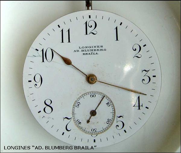 "Longines ""Blumberg"" | cadran"