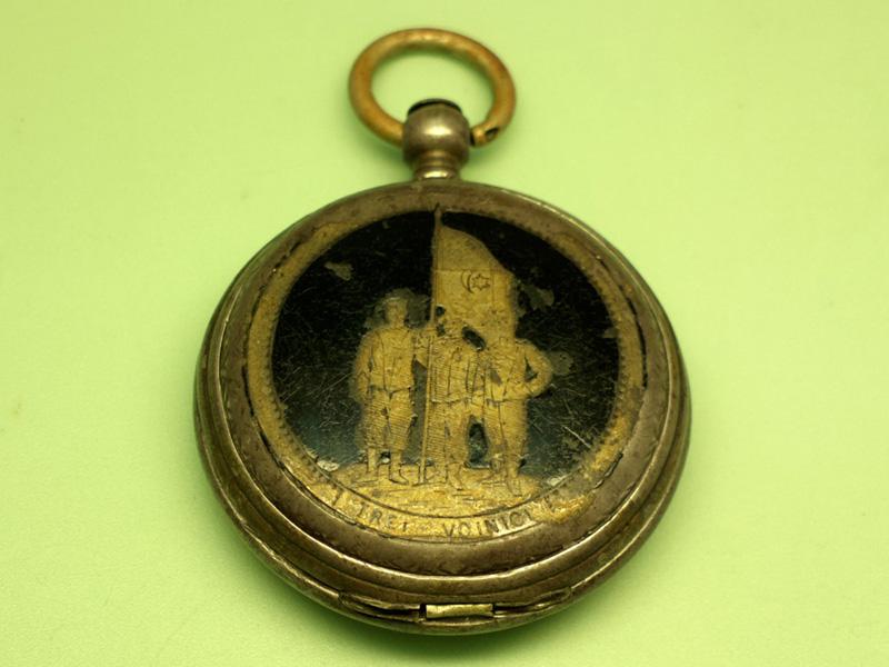 "Longines ""Trei Voinici"" | Joh. Baumann - Craiova | 1878 (inainte de restaurare)"