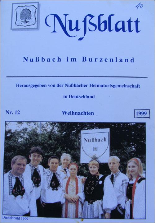 Nussblatt nr.12 | 1999