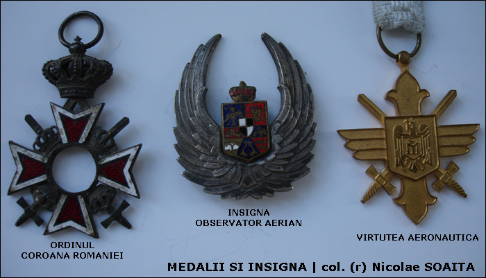Nicolae Soaita | insigna si medalii