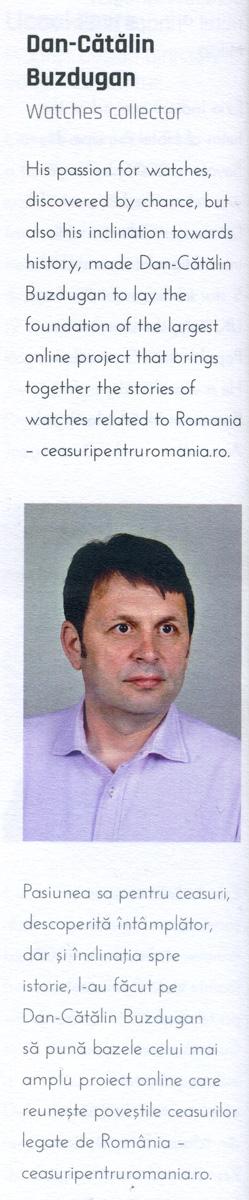 MisterWatch - iunie.2020 | Tissot in Romania - Un secol in urma