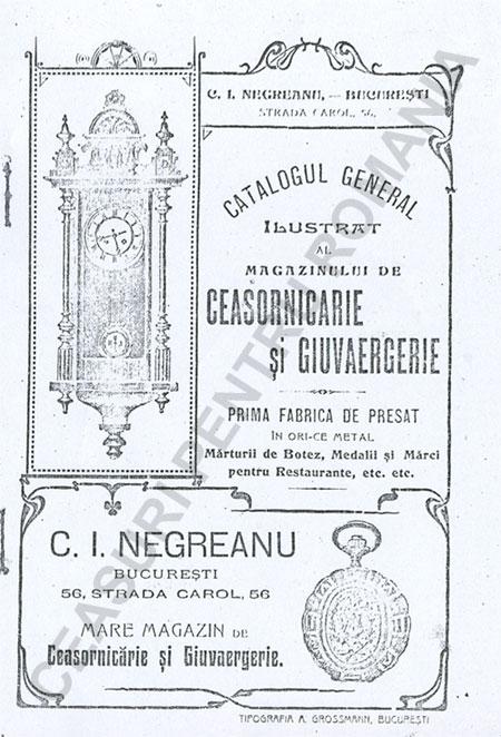Catalog C.I. Negreanu | p.1