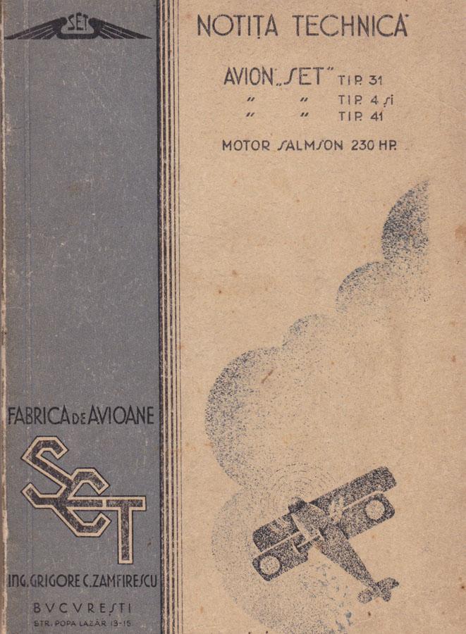 Notita Tehnica | SET-31 / 4 / 41