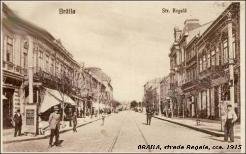 strada Regala - Braila